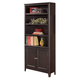 Carlyle Large Door Bookcase in Almost Black