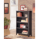 Carlyle Medium Bookcase in Almost Black