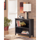 Carlyle Small Bookcase in Almost Black