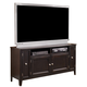 Carlyle Large TV Stand in Almost Black