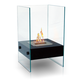 Anywhere Fireplace Hudson Indoor/outdoor Fireplace in Satin Black