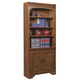 Aspenhome Centennial Door Bookcase in Chestnut Brown I49-332