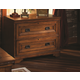 Aspenhome Centennial Lateral File Cabinet in Chestnut Brown I49-331