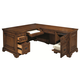 Aspenhome Centennial Computer Desk and Return in Chestnut Brown