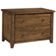 Aspenhome Cross Country Lateral File in Saddle Brown IMR-331