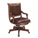 Aspenhome Napa Office Chair in Cherry L74-269963