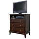 Larimer Media Chest in Dark Brown B654-39