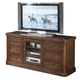 Somerton Barrington Entertainment Console in Medium Brown 420-29