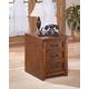 Cross Island File Cabinet in Medium Brown Oak Stain