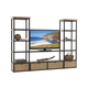 Lexington Monterey Sands Camino Real Media Wall Unit in Sandy Brown