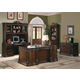 Coaster Tucker Home Office Desk Set in Rich Brown