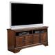 Hamlyn Large TV Stand in Dark Brown