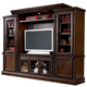 North Shore Traditional Entertainment Center in Dark Brown
