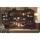 Aspenhome E2 Class Villager Home Office Dual T-Desk Set in Warm Cherry