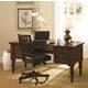 Aspenhome E2 Class Villager Home Office Desk Set in Warm Cherry