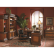 Aspenhome Napa Home Office Computer and Return Desk Set in Cherry