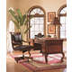 Aspenhome Napa Home Office Writing Desk Set in Cherry