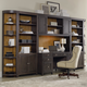 Hooker Furniture South Park 6-Piece Home Office Wall Unit