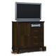 American Woodcrafters Grandeur Entertainment Chest in Rich Brown Cherry 5200-232