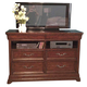 American Woodcrafters Signature Entertainment Furniture in Rich Dark Brown 8000-232