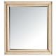 Stanley Furniture European Cottage Portfolio Landscape Mirror in Vintage White 007-23-30