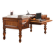 Parker House Grand Manor Granada Writing Desk in Vintage Walnut GGRA#9085 CODE:UNIV20 for 20% off