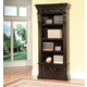 Parker House Grand Manor Palazzo Museum Bookcase in Burnished Black GPAL#9030