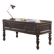 Parker House Grand Manor Palazzo Writing Desk in Burnished Black GPAL#9085