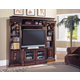 Parker House Huntington Expandable Spacesaver Entertainment Wall in Vintage Pecan