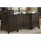 Coaster Garson Home Office Desk in Rich Cappuccino Finish 801012