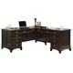 Coaster Garson Home Office L-Shape Desk in Cappuccino Finish 801011L /R