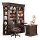 Parker House Venezia 5 Piece Library Corner Wall in Burnished Black