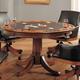 Hillsdale Park View Game Table in Medium Brown Oak 4186-810/811