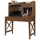 Liberty Hearthstone Writing Desk and Hutch in Rustic Oak