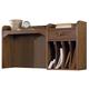 Liberty Hearthstone Desk Hutch in Rustic Oak 382-HO140