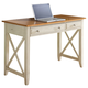 Liberty Ocean Isle Writing Desk in Bisque with Natural Pine 303-HO111