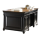 Liberty St. Ives Jr Executive Credenza in Chocolate Cherry