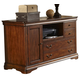 Liberty Brookview Executive Credenza in Rustic Cherry 378-HO121
