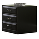 Liberty Hampton Bay Mobile File Cabinet in Black 717-HO146