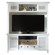 Liberty Summerhill Entertainment Center in Linen White EST SHIP TIME IS 4 WEEKS