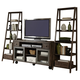 Liberty Avignon Entertainment Center w/ Piers in Rustic Brown EST SHIP TIME IS 4 WEEKS