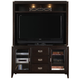 Liberty Harbor Town Entertainment TV Stand w/ Hutch in Mocha