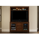 Liberty Shadow Valley Entertainment TV Stand w/ Hutch  in Bronze Spice