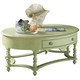Fine Furniture Summer Home Oval Cocktail Table in Sea Grass 1052-932