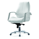 Pastel Furniture Andrew Office Chair in Ivory Upholstery AW-164-CH-AL-978