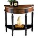 Butler Specialty Demilune Console Table in Café Noir 0667104