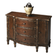 Butler Specialty Three Drawer Console Cabinet in Tobacco Leaf 0674228