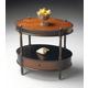 Butler Specialty Oval Accent Table in Café Noir 0822104