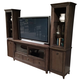 American Drew Park Studio Grand Entertainment Center in Light Oak