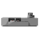 J&M TV015 TV Stand in Grey High Gloss 17873